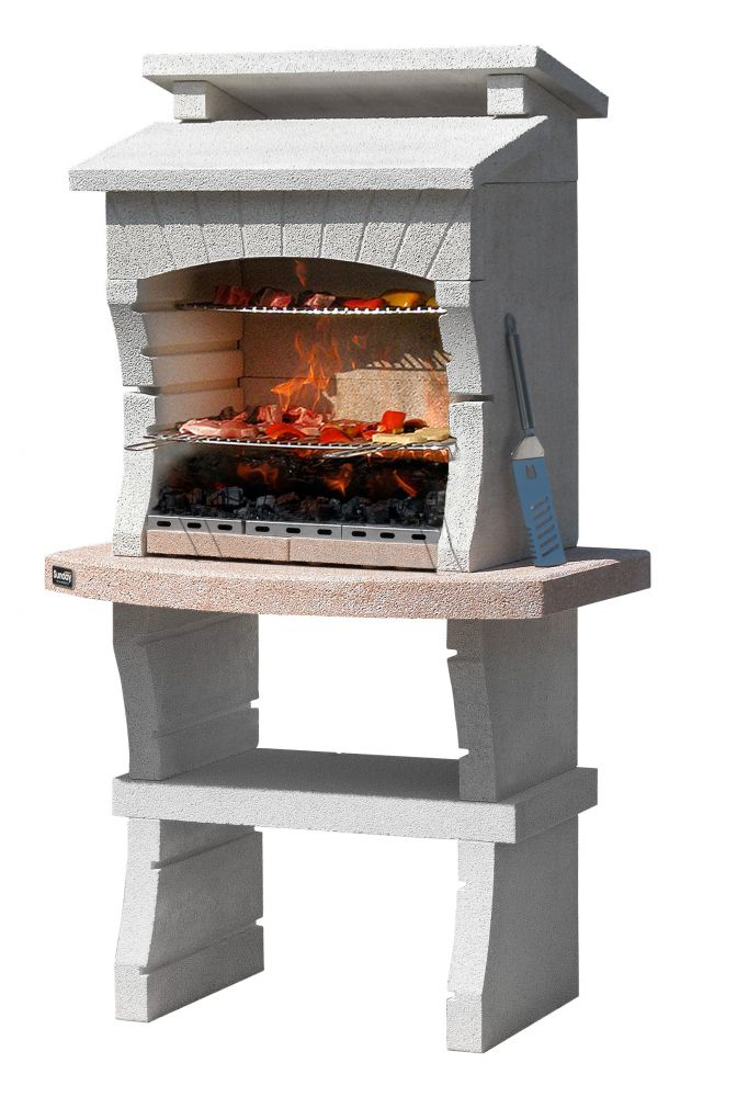 Barbecue sunday nairobi in muratura per esterno 98x62 5x173h - Barbecue en brique pas cher ...