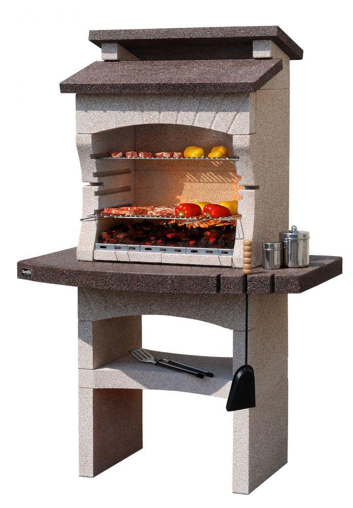 barbecue sunday tarragona in muratura per esterno. Black Bedroom Furniture Sets. Home Design Ideas