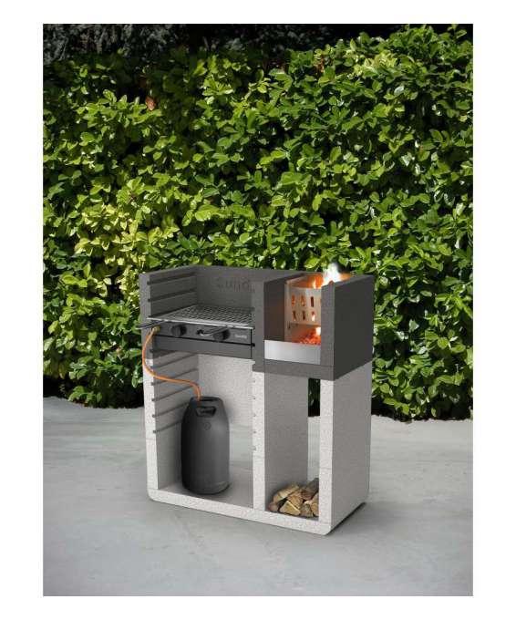 Barbecue sunday one plus in muratura per esterno - Barbecue esterno ...