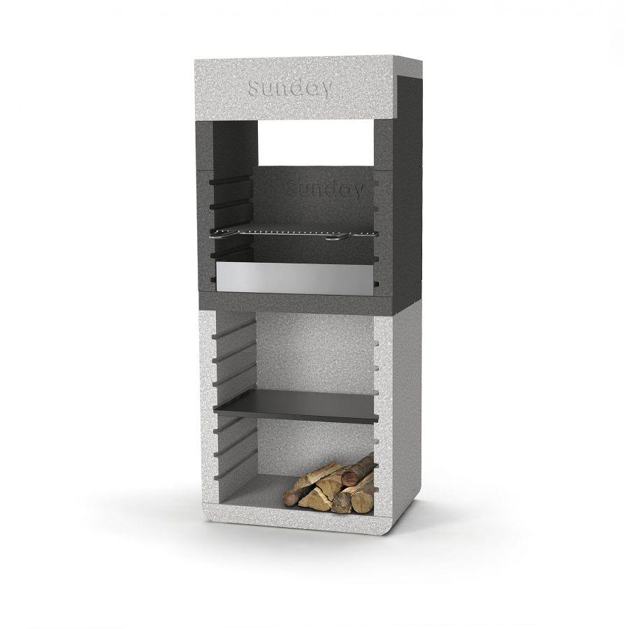 Caminetto per esterno caminetto per esterno with for Barbecue in muratura obi