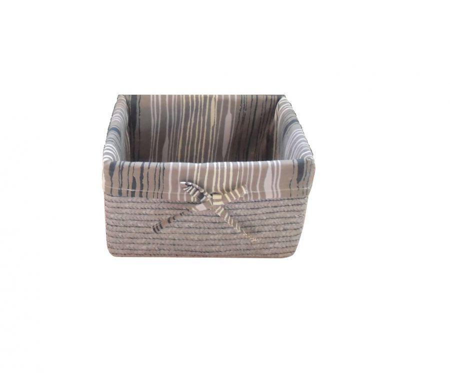Cesta portabiancheria in paglia colore grigio - Bagno di colore prodotti ...