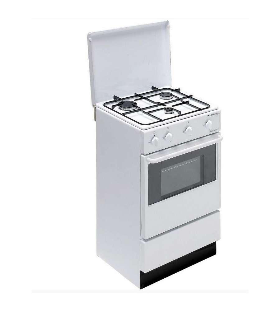 Cucina a 3 fuochi con forno bi910aa n colore bianco - Elettrodomestici cucina a gas ...