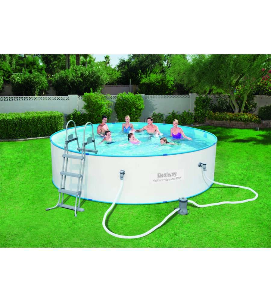 Piscina hydrum splasher 56386 bestway 460x90 cm - Montaggio piscina bestway ...