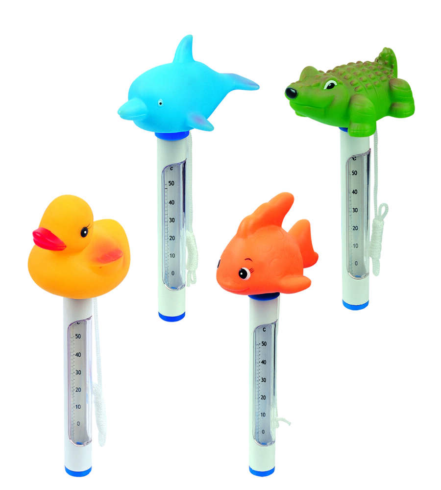 Termometro galleggiante per piscina soggetti assortiti for Termometro piscina