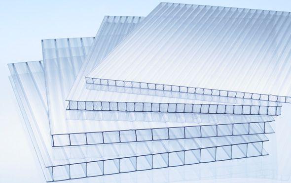 Lastra in policarbonato alveolare trasparente 2000 x 980 x for Onduline per tettoie