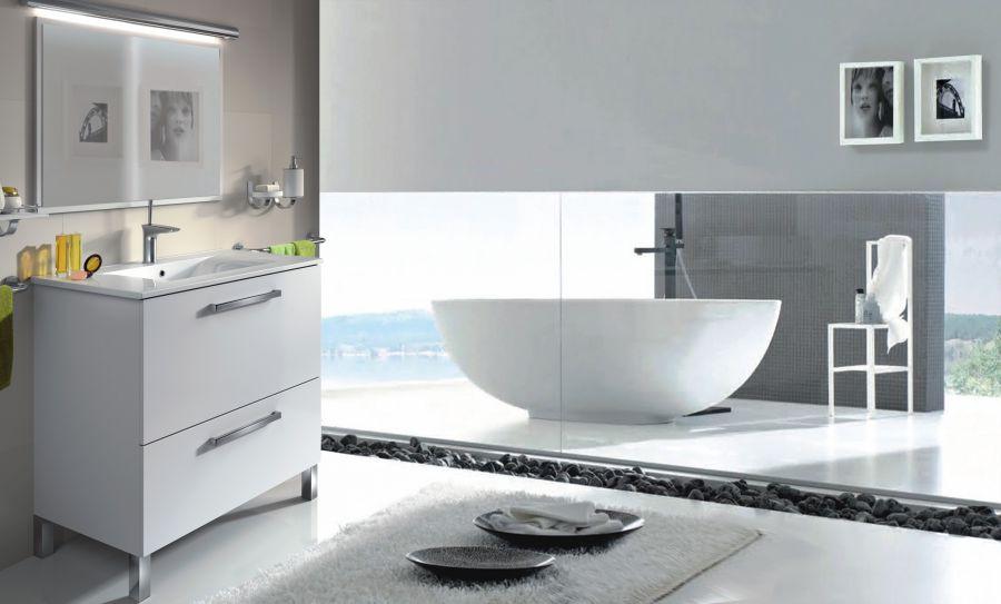 Offerta comp bagno urban bianco for Bagno urban