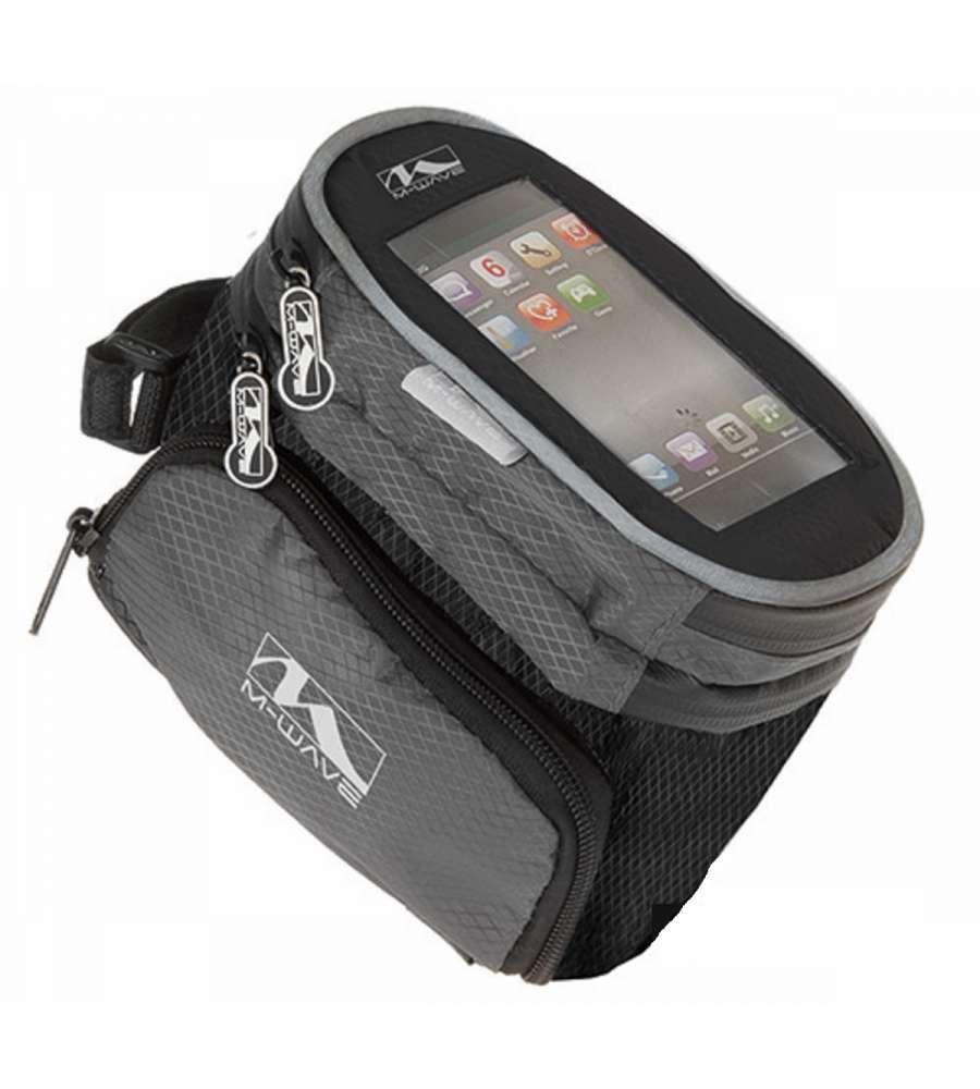 Borsetta porta smartphone espandibile per bici - Porta bici smart ...