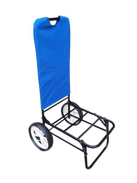 Spiaggina Sdraio Con Ruote.Spiaggina Trolley Con Ruote Blu Navy 62x49x107 Cm