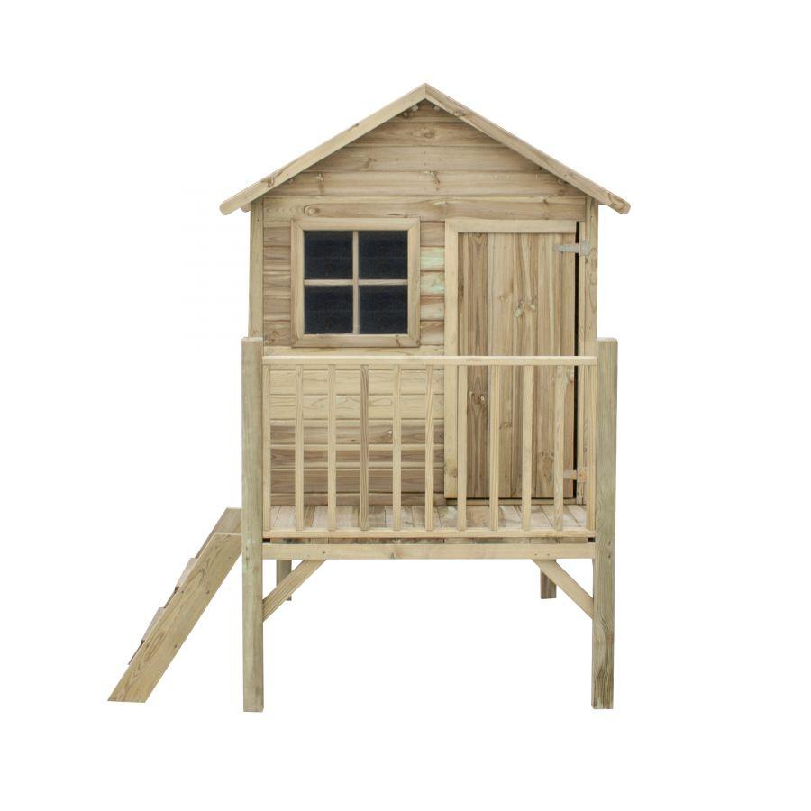 casetta in legno per bambino tomek 174x123x212 cm