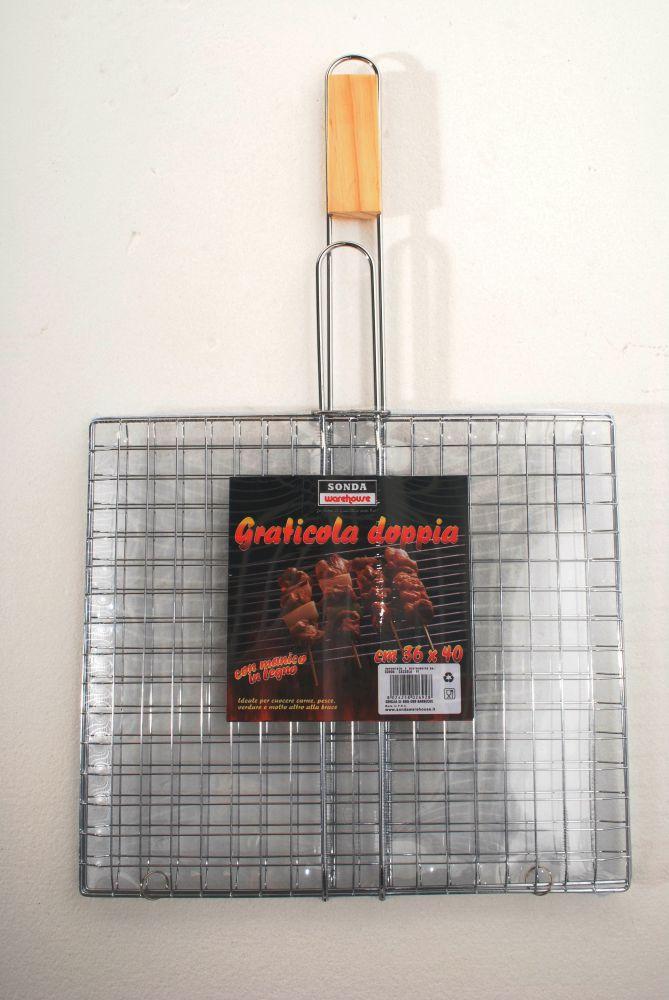 Griglia per barbecue 40x35x66 cm for Griglia per barbecue bricoman