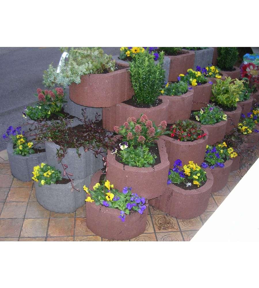 Pavimentazione da esterno mattone decorativo alpinblock for Bordure aiuole offerte