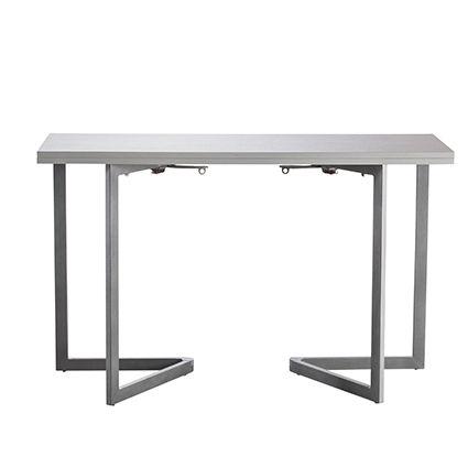 Tavolo da pranzo consolle modello fold colore bianco for Tavolo consolle 80 cm