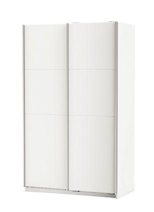 Armadio fast con ante scorrevoli color bianco for Armadio con ripiani