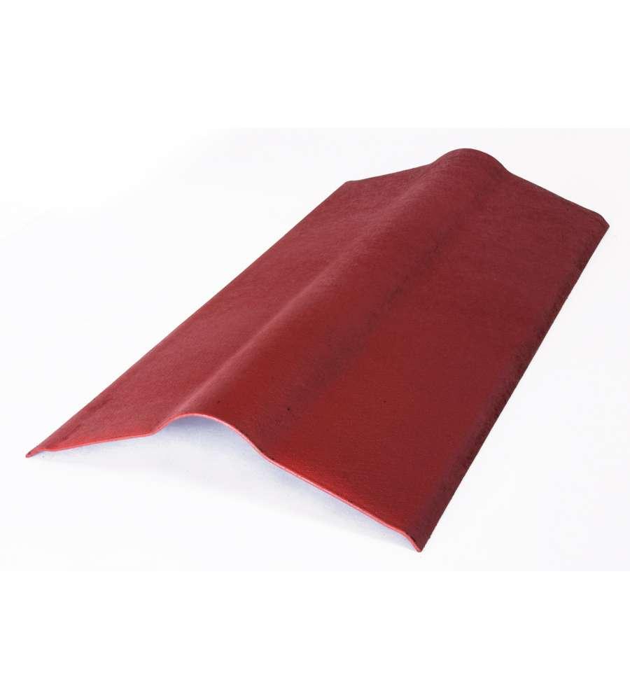 Colmo rosso intense per onduline 100 x 50 cm for Montaggio onduline