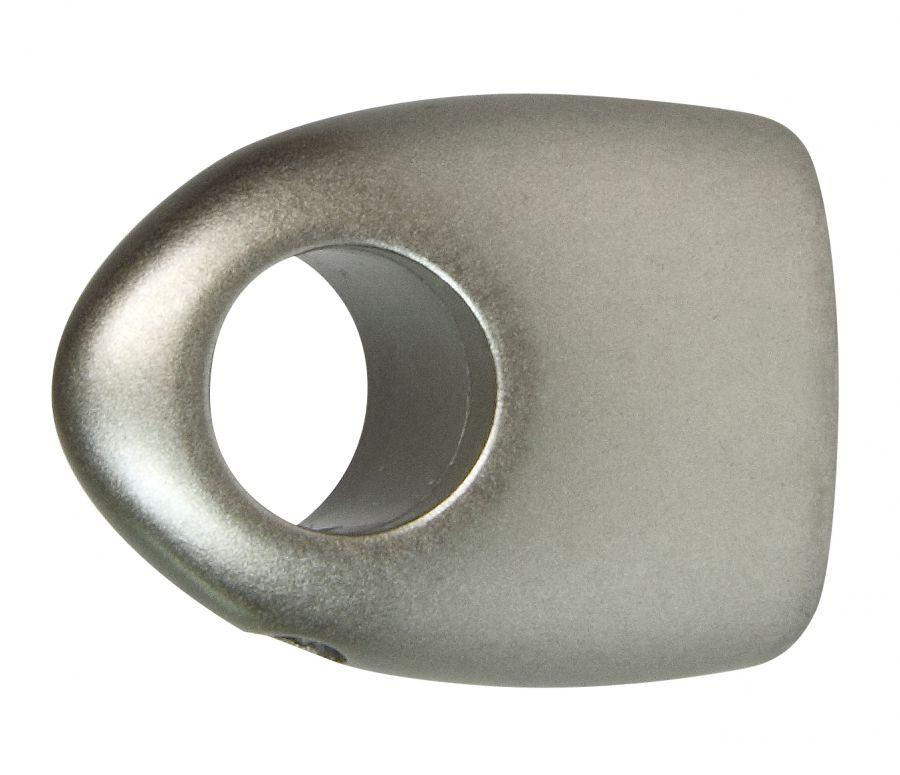 2 supporti moderni da 40 mm per tubo tende diametro 13 mm - Supporti per tende ...