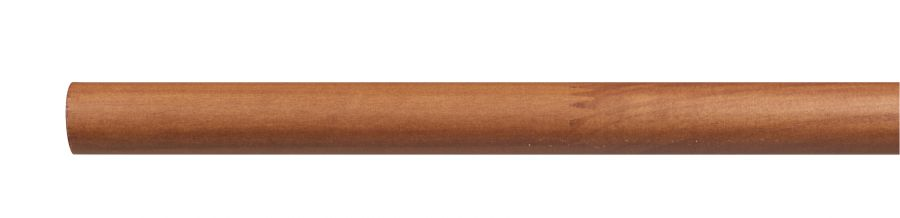 Bastoni In Legno Per Tende.Bastone Per Tende In Legno Da 200 Cm Con Diametro 28 Mm Ciliegio