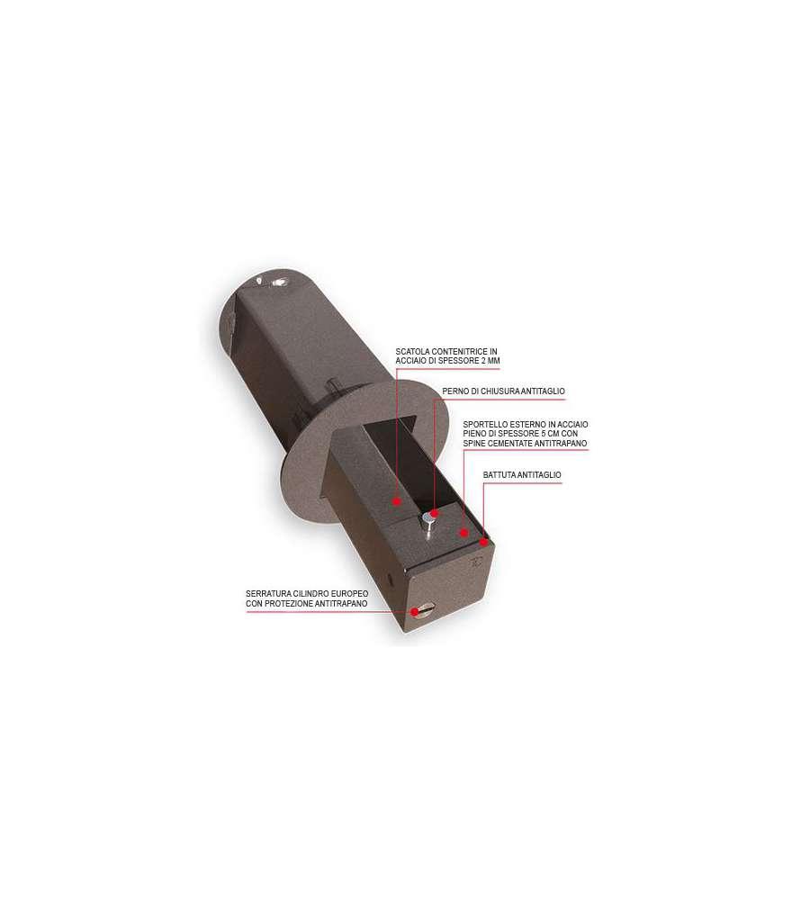Cassaforte di sicurezza blindino da 110mm installazione for Cassaforte leroy merlin