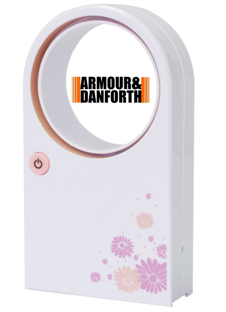 Mini ventilatore senza pale a batteria o usb for Ventilatore a pale