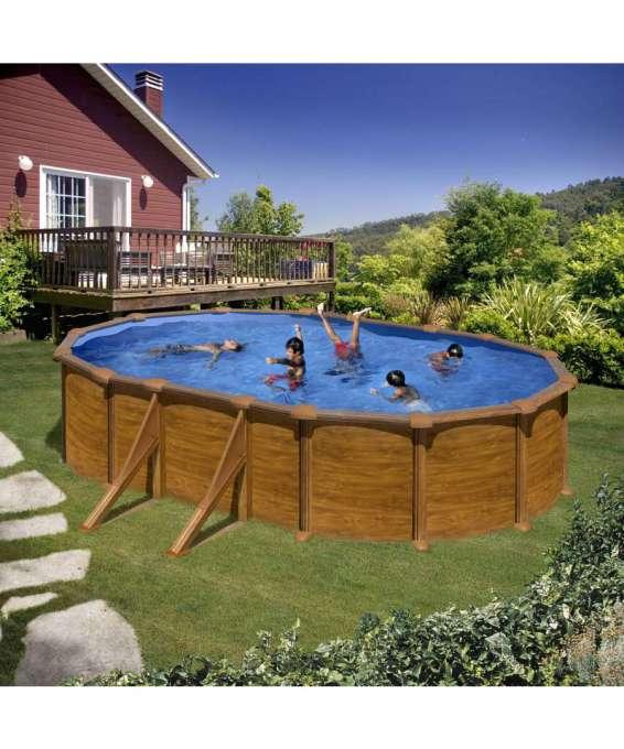 Gre piscina ovale sicilia aspetto legno 500 x 300 for Volantino acqua e sapone sicilia