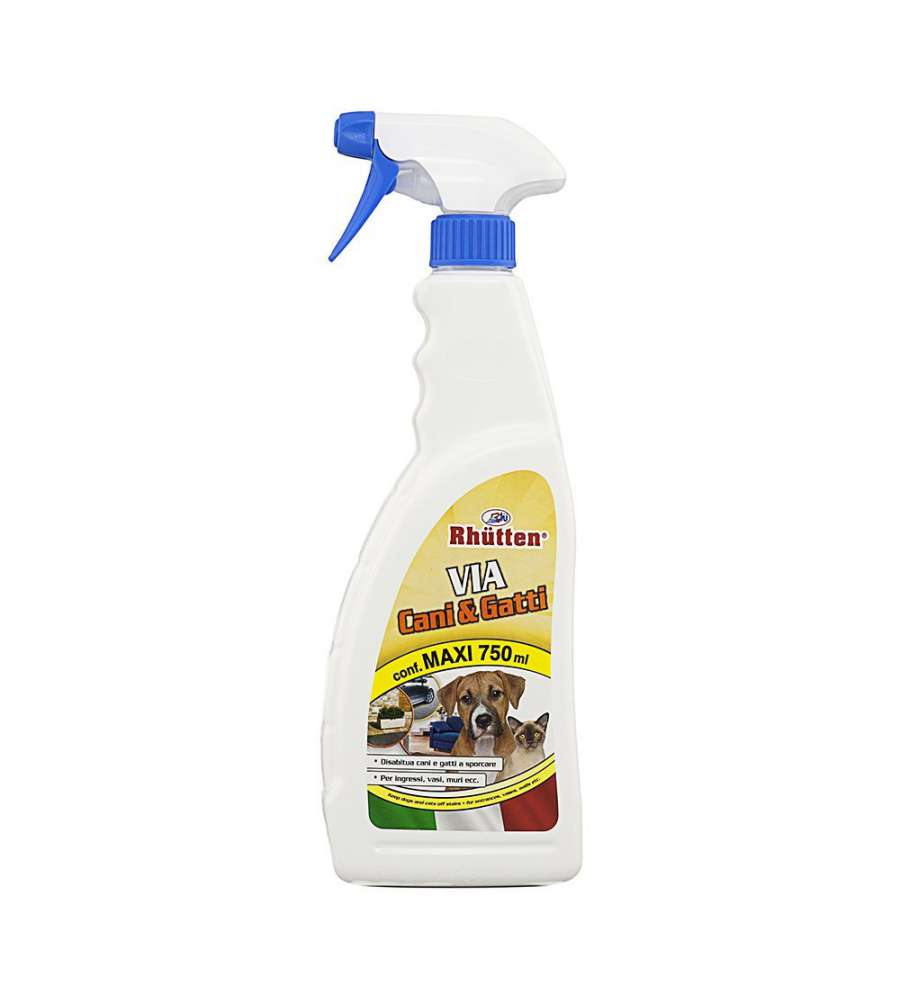 SPRAY DISABITUANTE CANI E GATTI 750 ML - RHUTTEN.