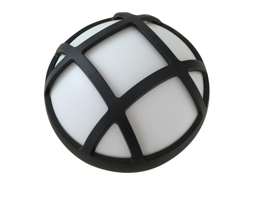 Plafoniera Per Esterno In Plastica : Plafoniera da esterno a led tonda con griglia diametro mm