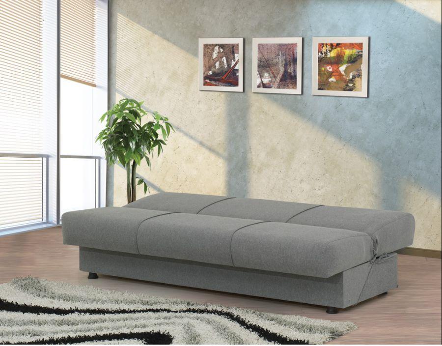Offerta divano letto easy con cassettone 3 posti - Divano letto con cassettone ...