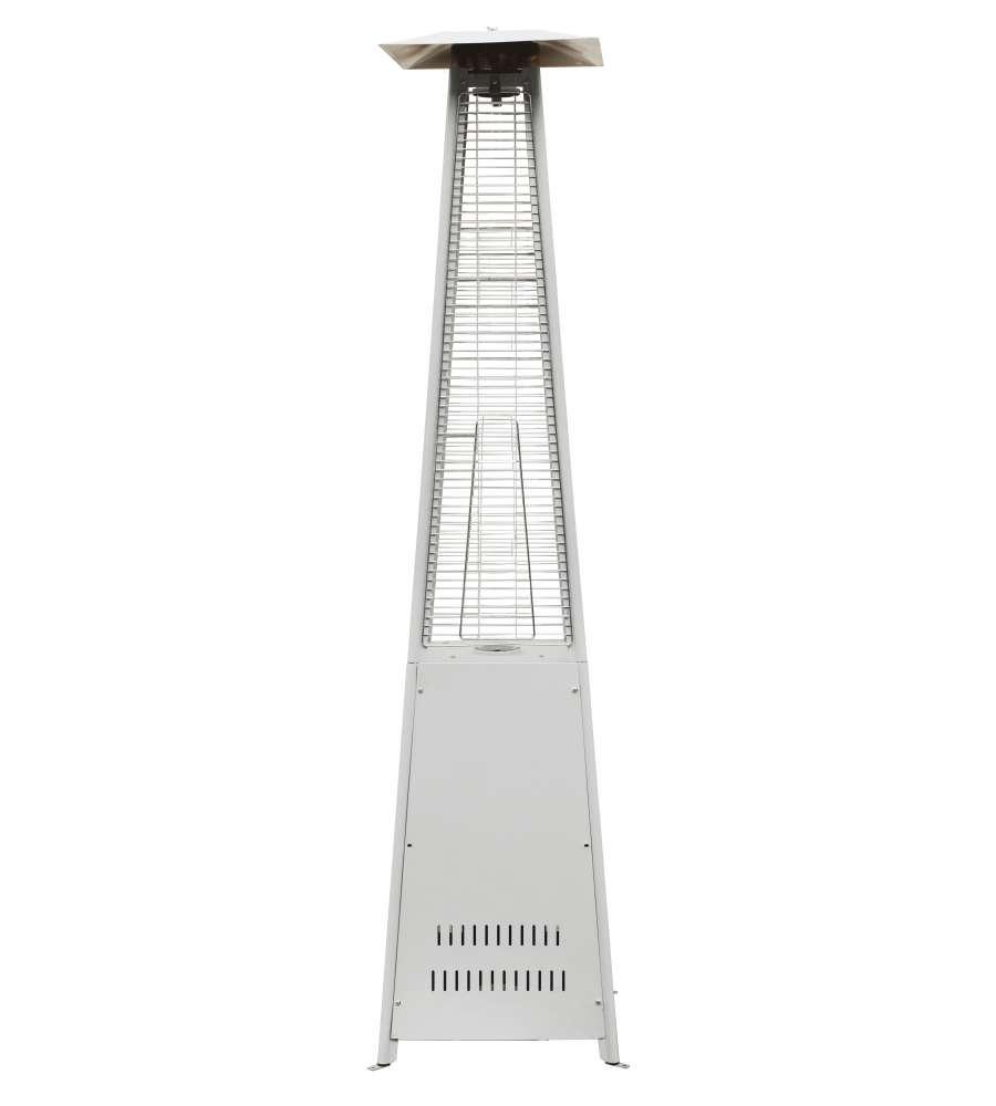 Stufa per riscaldamento esterno con tubo in vetro 13 kw - Riscaldamento per esterno ...