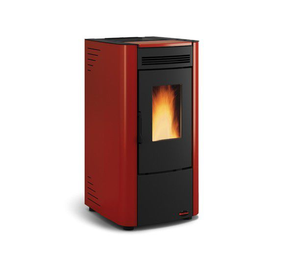 Stufa a pellet ketty bordeaux 2 8 7 3 kw la nordica - Stufe pellet nordica extraflame prezzi ...