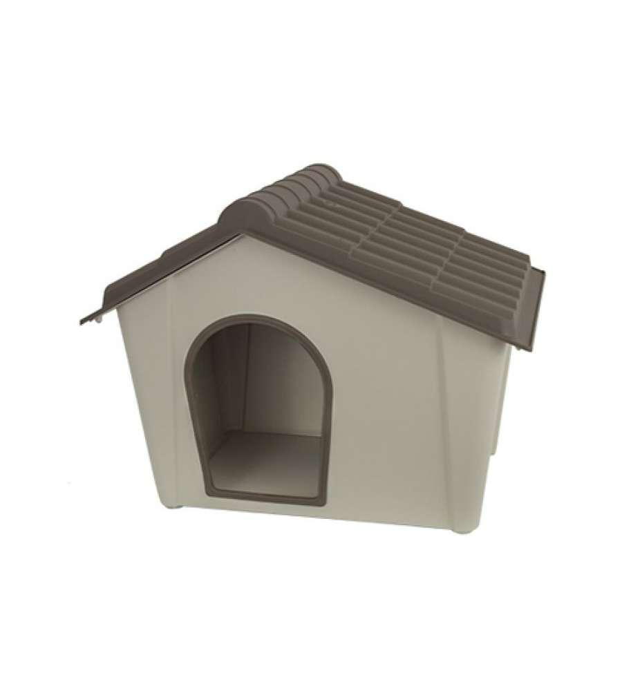 Cuccia midi cane e gatto in resina color tortora for Cuccia per cani eurobrico