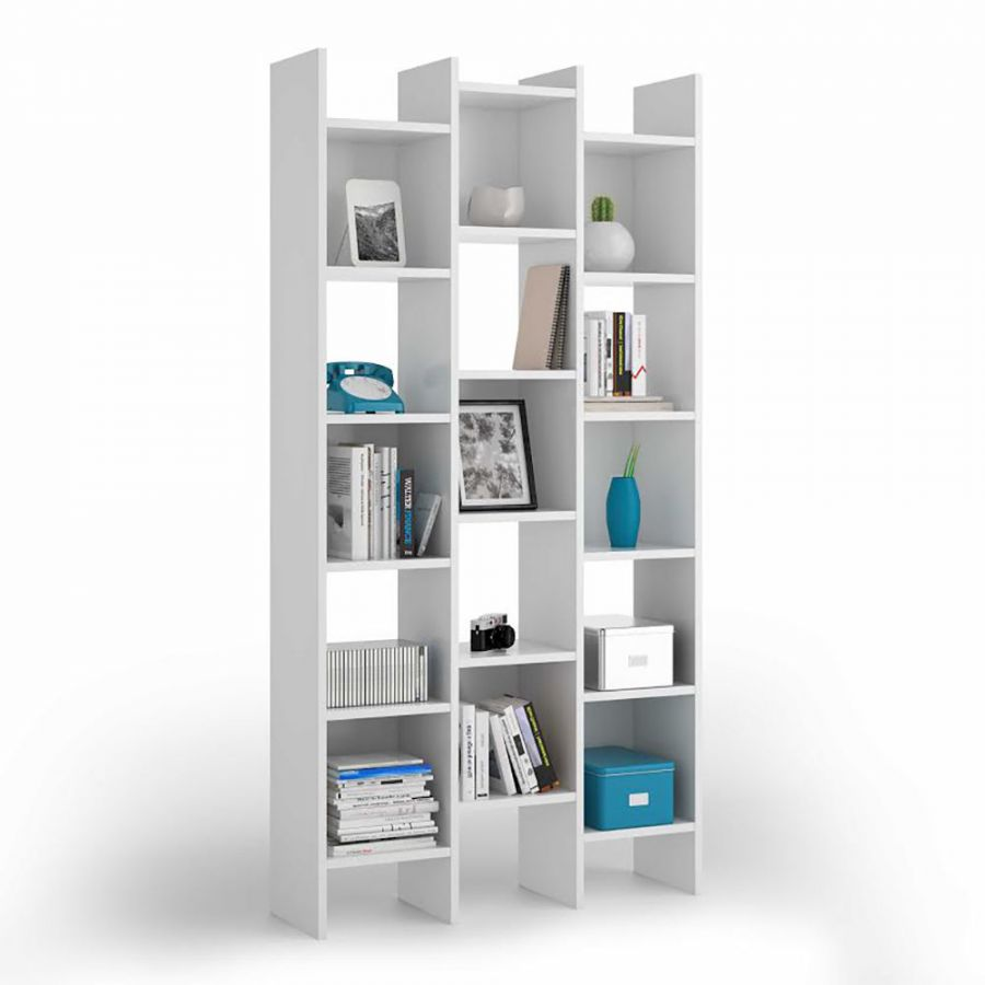 Mobili Soggiorno Kit : Offerta libreria modello quot italia bianco lucido
