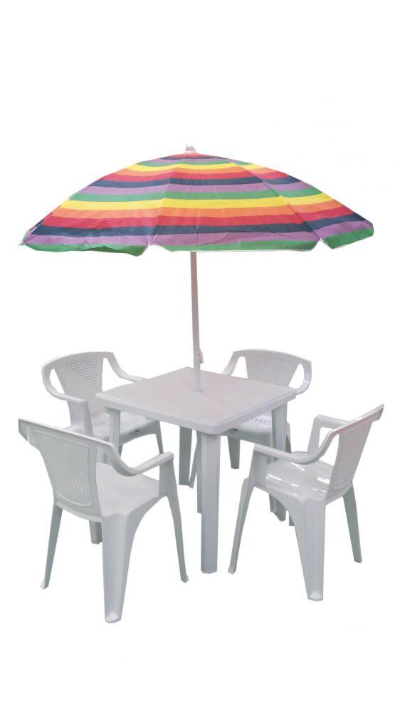 Set da esterno con sedia luna tavolo rodi e for Tavolo e sedie esterno offerte
