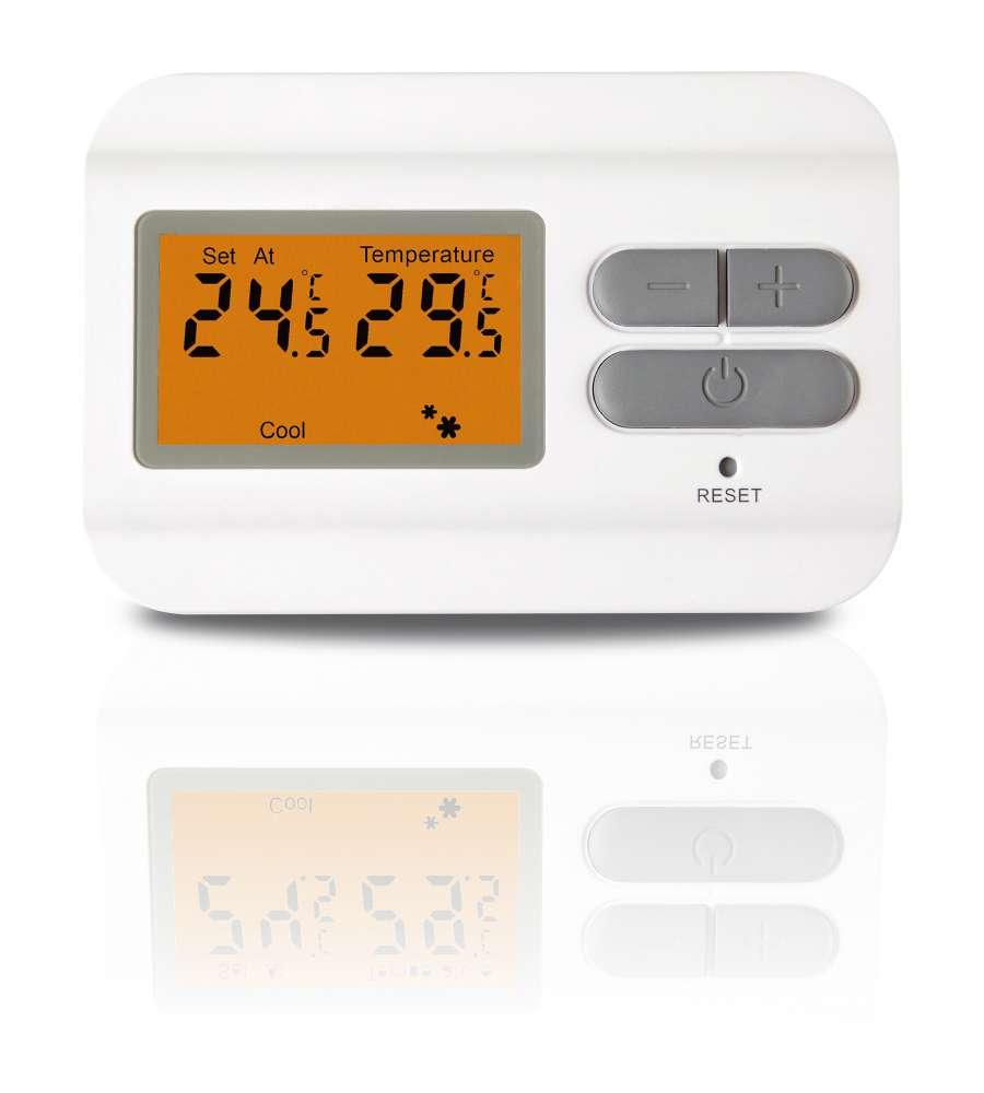 Termostato digitale con display lcd for Obi addobbi natalizi