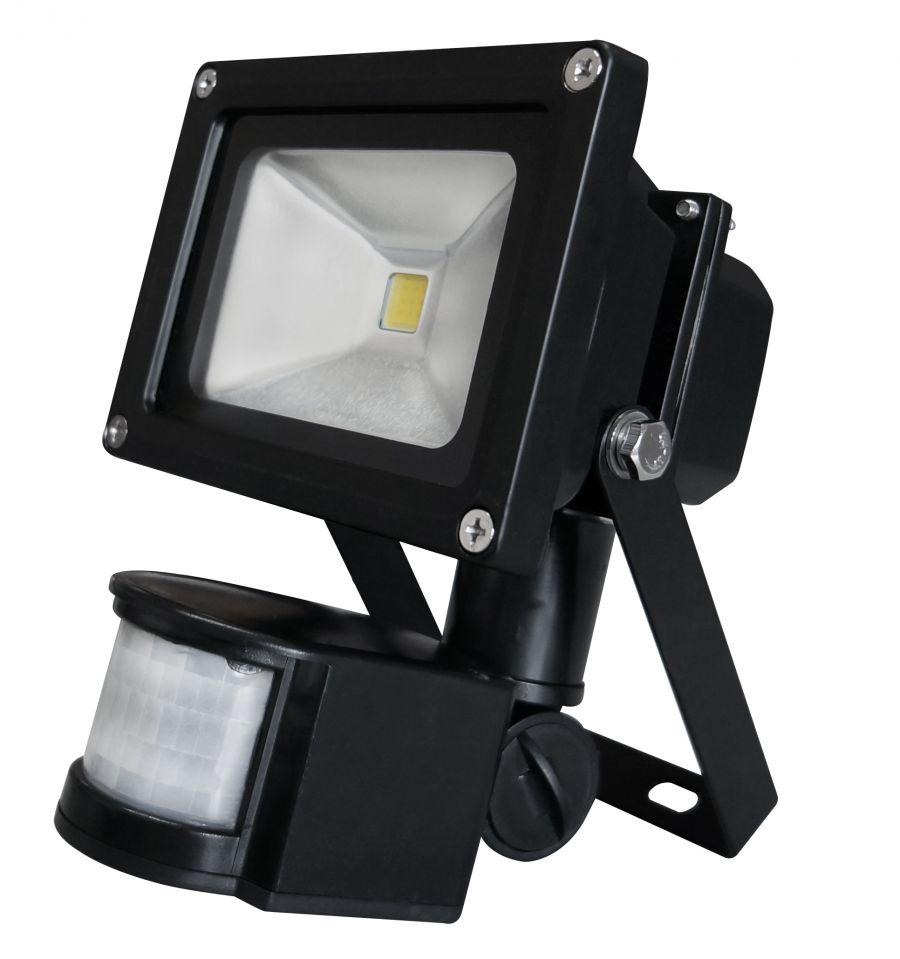Faretto LED con Sensore di Movimento 10W