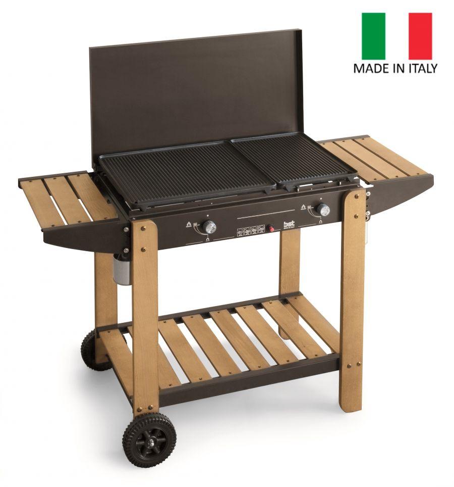 "Barbecue A Gas Gpl/metano ""romeo"" - Bst."