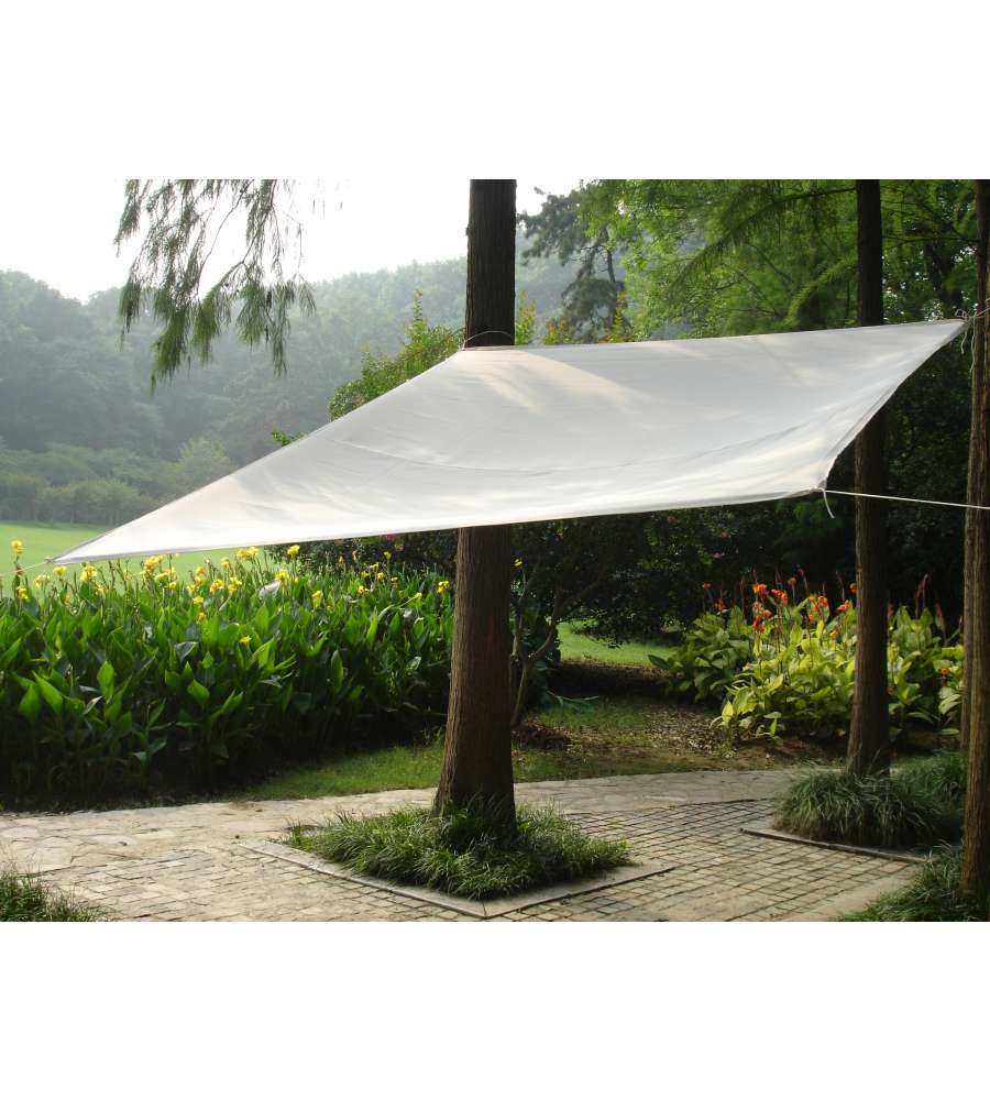 Vela Triangolare Da Giardino telo ombreggiante parasole da giardino quadrato idrorepellente