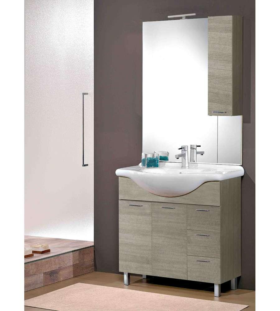 mobili bagno rovere grigio