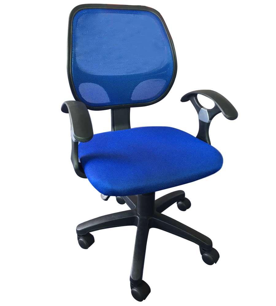 Sedia Da Ufficio Blu Smart2 Con Braccioli 57x56x88 100 Cm