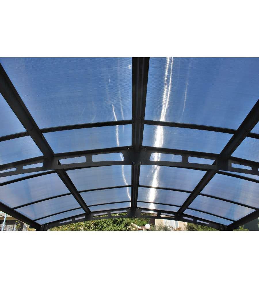 Arredamento E Casalinghi Siena.Carport Siena In Alluminio E Policarbonato Alveolare 362 X 502 Cm