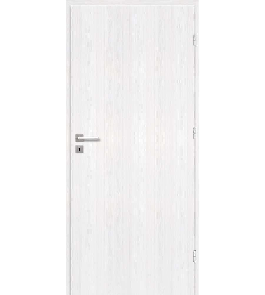 Porta da interno colore pino sbiancato reversibile 80 - Porte da interno brico ...