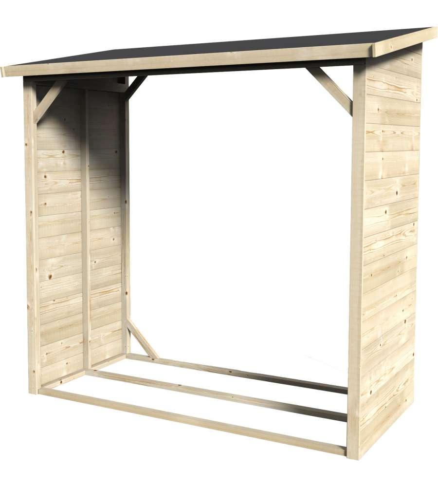 Armadio in legno b cher 12mm rettangolare 170x81 cm - Armadio giardino legno ...
