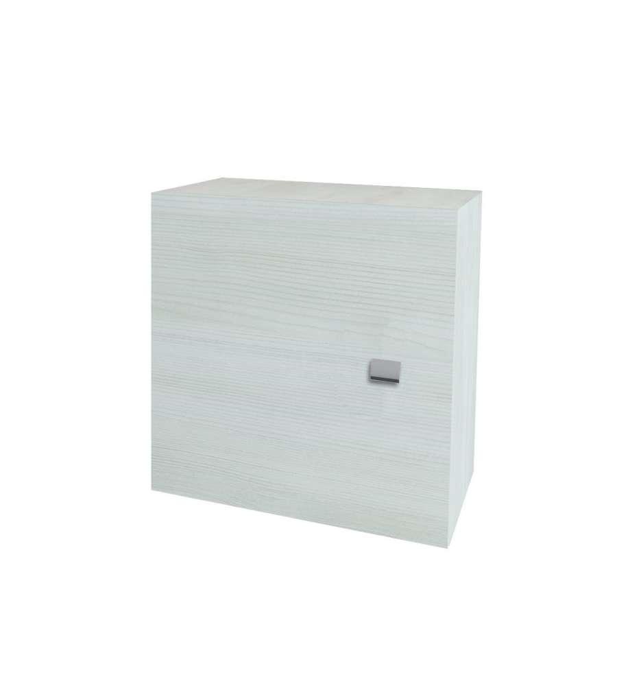 Pensile Cubo Rovere Bianco 45x45x15, 5 Cm