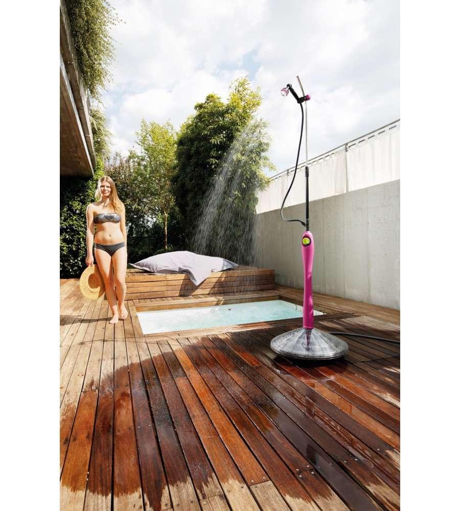 Doccia solare sunny style premium con acqua calda da for Doccia solare sunny style
