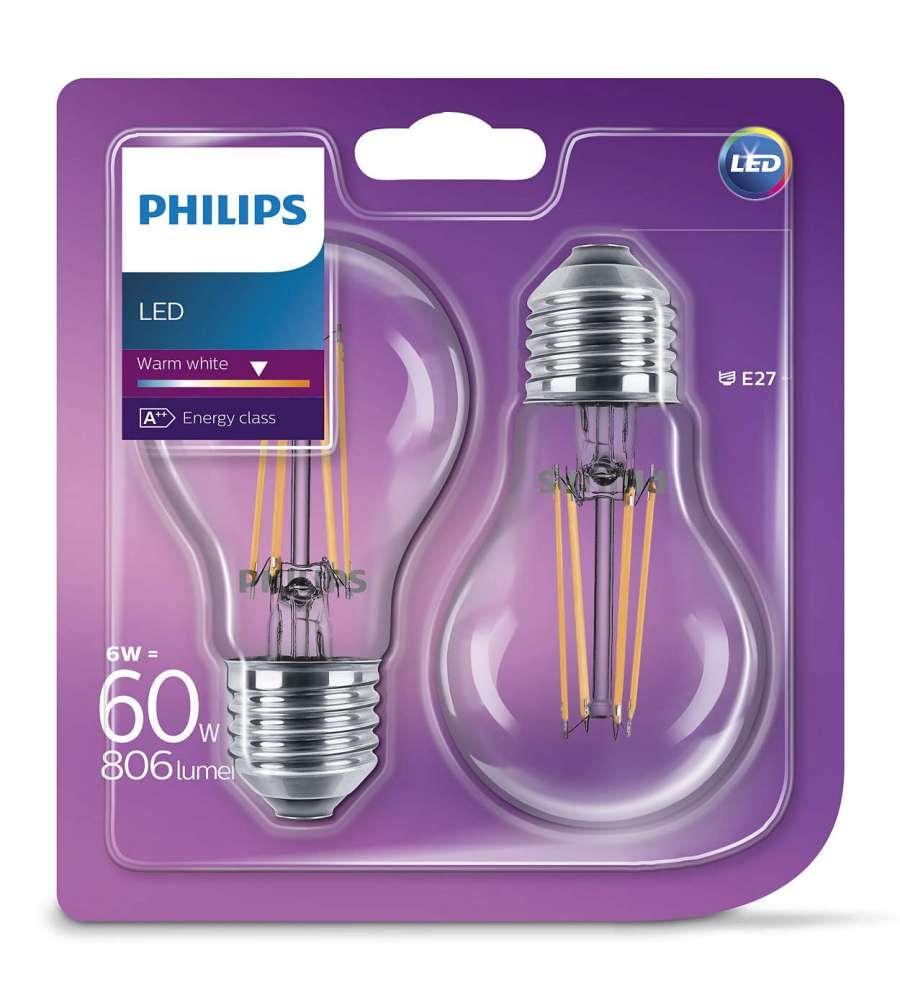 Offerta confezione da 2 lampadine marca philips for Lampadine a led in offerta