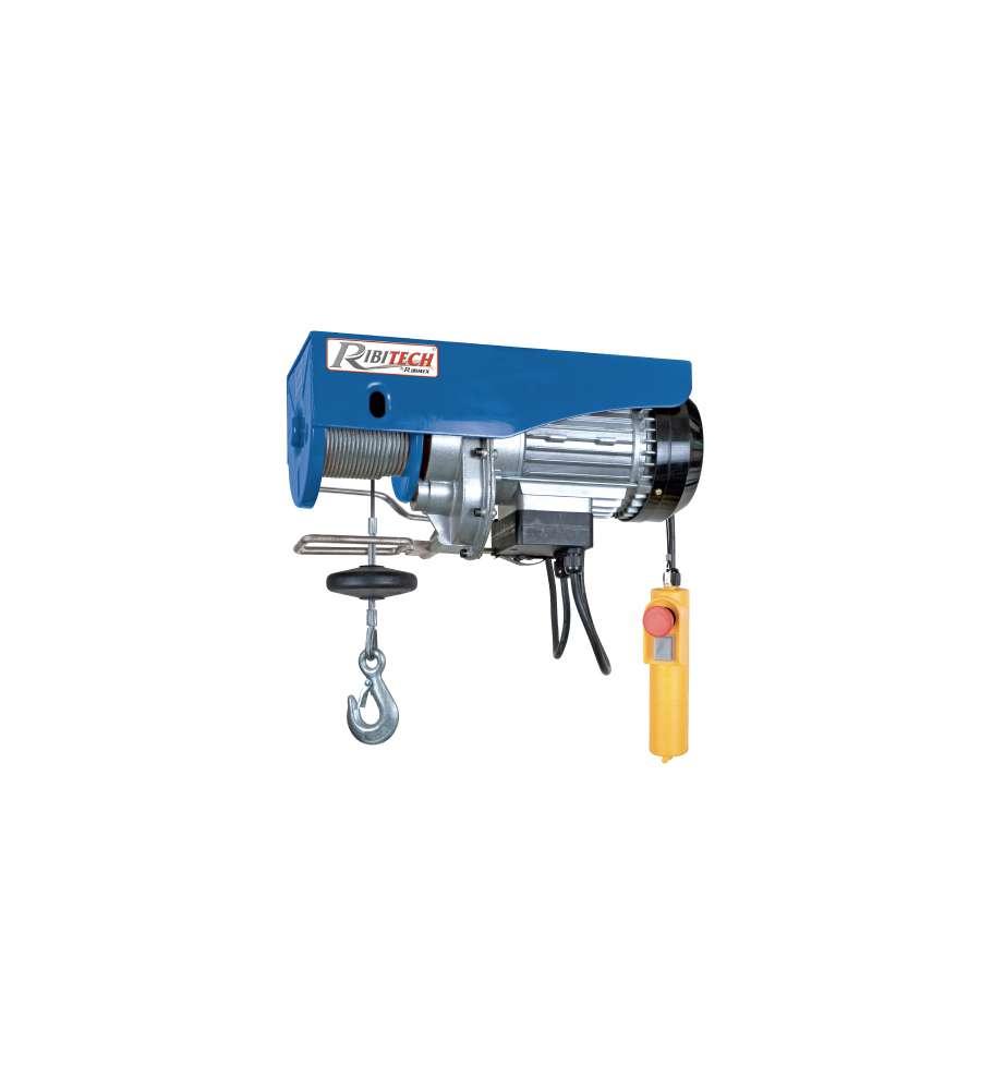 Paranco elettrico primotech 100 200 kg ribimex for Paranco elettrico 1000 kg