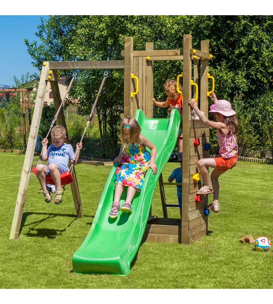 Altalene in legno da giardino per bambini - Altalene bambini per esterno ...