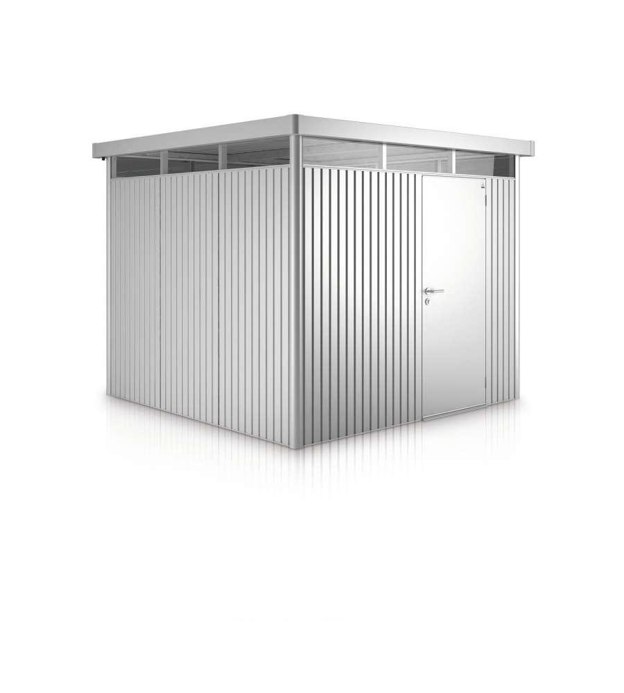 biohort casetta highline h2 in acciaio zincato argento. Black Bedroom Furniture Sets. Home Design Ideas
