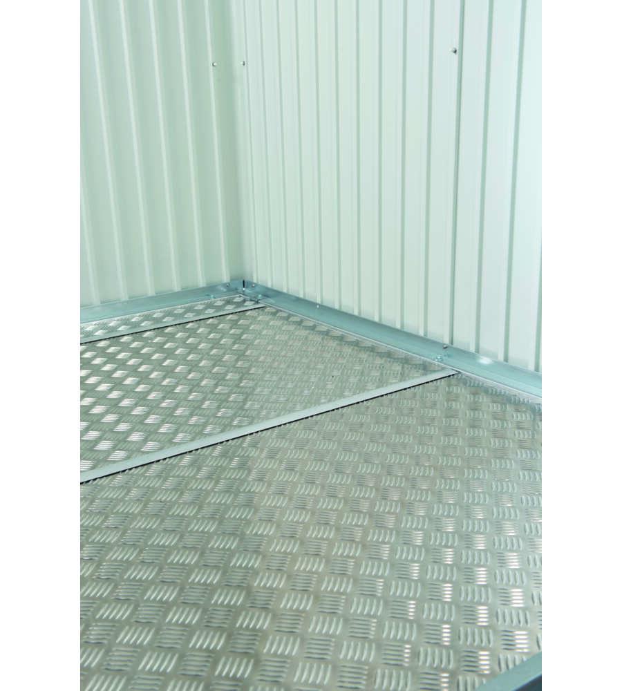 biohort pavimentazione in alluminio per casetta highline h5. Black Bedroom Furniture Sets. Home Design Ideas