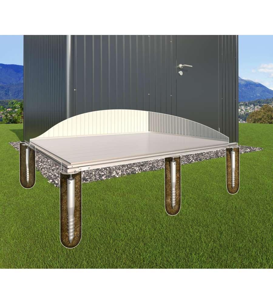 biohort viti di ancoraggio a terra per casetta europa 7. Black Bedroom Furniture Sets. Home Design Ideas