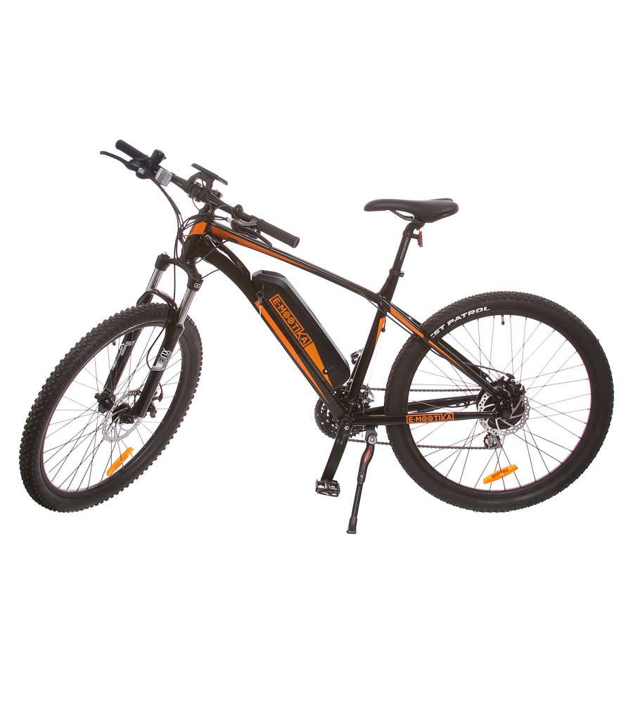 E mootika bici elettrica mountain bike con pedalata for Bici elettrica assistita