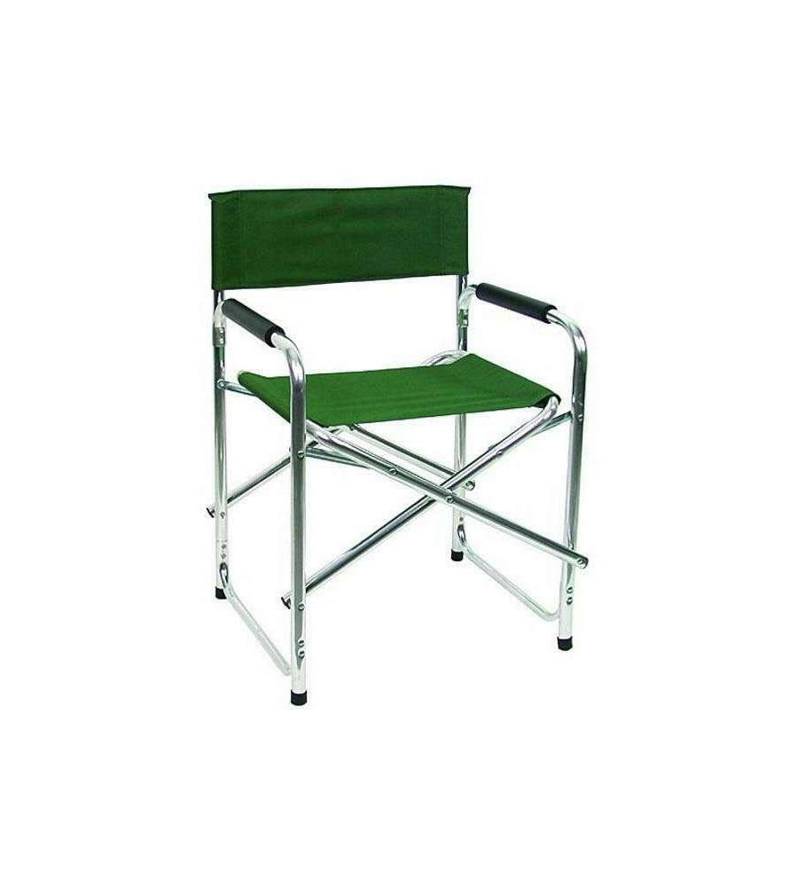 Sedie Da Regista Pieghevoli.Sedia Da Regista Pieghevole Colore Verde